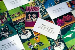 Ways to play with World Village Playset - China story cards