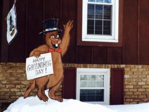 Groundhog Day decorations