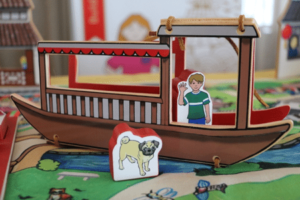 Ways to Play with World Village Playset - China Canal Boat and Wooden Figures