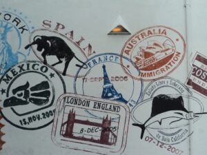 Passport Stamps - World Play Date
